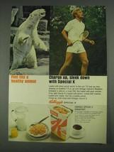 1967 Kellogg's Special K Breakfast Ad - Healthy Animal - $14.99