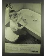 1967 Kimberly-Clark Texoprint Paper Ad - Impervious - $14.99