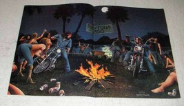 1986 David Mann Illustration - Daytona Zoo - $14.99