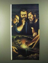 1987 David Mann Illustration - Grave Robbers - $14.99
