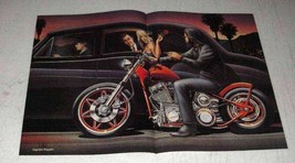 1988 David Mann Illustration - Lady Love Outlaws - $14.99
