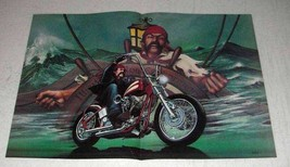 1989 David Mann Illustration - Buccaneer Biker - $14.99