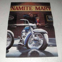1989 David Mann Illustration - Dynamite Mary - $14.99