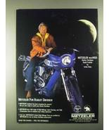 1990 Metzeler Tires Ad - Arlen Ness - $14.99