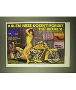 1993 Arlen Ness Parts Ad - Don't Forget the Details - $14.99