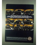 1996 Harley-Davidson Seats & Saddlebags Ad - Black - $14.99