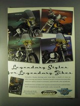 1998 Drag Specialties Memphis Shades Fairings Ad - $14.99