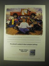 1998 Ford Ranger 4-Door SuperCab Pickup Truck Ad - $14.99
