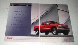 1998 GMC Sierra Pickup Truck Ad - 99% Doesn't Need - $14.99