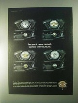 1998 Harley-Davidson Genuine Motor Accessories Ad - $14.99