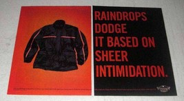1998 Harley-Davidson MotorClothes Rain Gear Ad - $14.99