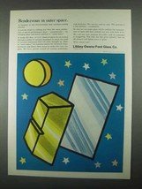 1967 Libbey-Owens-Ford Glass Ad - Outer Space - $14.99