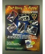 2000 Arlen Ness Motorcycle Products Ad - Be Happy! - $14.99