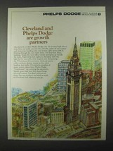 1967 Phelps Dodge Ad - Cleveland Growth Partners - $14.99