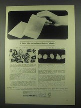 1967 Philips Research Laboratories Ad - Sheet Plastic - $14.99