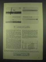 1967 Philips Research Laboratories Ad - SiC Promise - $14.99