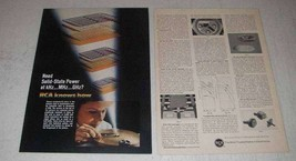 1967 RCA Overlay Transistors Ad - Solid-State Power - $14.99