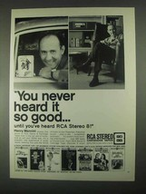 1967 RCA Stereo 8 Cartridge Tapes Ad - Henry Mancini - $14.99