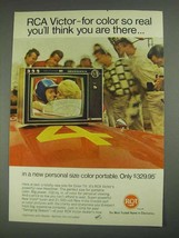 1967 RCA Victor Headliner TV Ad - Color So Real - $14.99