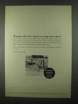 1967 Warner & Swasey 300 Hydro-Scopic Ad - Dow-Jones - $14.99