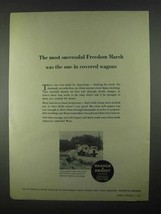 1967 Warner & Swasey Graddall G-600 Ad - Freedom March - $14.99