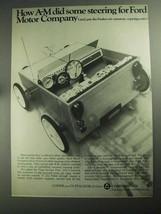 1968 Addressograph Multigraph Ad - Ford Motor - $14.99