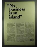 1968 BBB Better Business Bureau Ad - An Island - $14.99