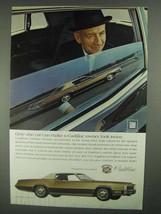 1968 Cadillac Fleetwood Eldorado Ad - Owner Look Twice - $14.99