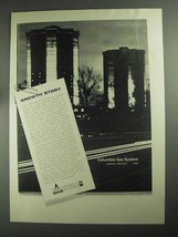 1968 Columbia Gas System Ad - Growth Story - $14.99