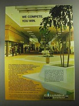 1968 Columbia Gas System Ad - We Compete You Win - $14.99