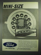 1968 Ford Motor Company Ad - Mini-Size - $14.99