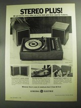1968 General Electric Model P971 Stereo Ad - Plus! - $14.99