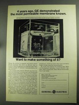 1968 General Electric Permeable Membrane Ad - 4 Years - $14.99