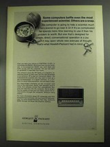 1968 Hewlett-Packard Computers Ad - Some Baffle - $14.99