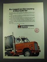 1968 International Harvester 400 Truck Ad - Rugged - $14.99