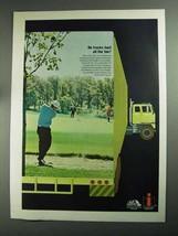 1968 International Harvester Truck Ad, Haul All The Fun - $14.99