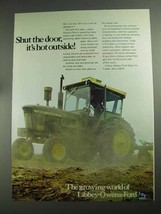 1968 Libbey-Owens-Ford Glass Ad - Shut The Door - $14.99