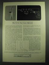 1968 Philips Research Laboratories Ad - Use Losses - $14.99