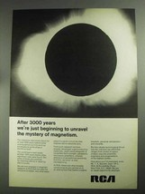 1968 RCA Magnets Ad - Unravel Mystery of Magnetism - $14.99