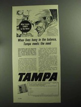 1968 Tampa Florida Chamber of Commerce Ad - Lives - $14.99