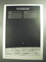 1968 Westinghouse Corporation Ad - Imagination is Limit - $14.99