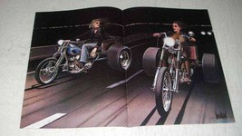 1982 David Mann Illustration - Trikes - $14.99