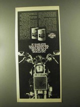 1982 Harley-Davidson Motorcycle Oil Ad - If Radiators - $14.99