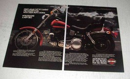 1983 Harley-Davidson Low Rider Motorcycle Ad - Again - $14.99