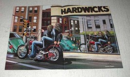 1984 David Mann Illustration - Hardwicks - $14.99