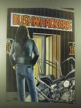 1984 David Mann Illustration - Bushwackers - $14.99