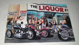 1984 David Mann Illustration - The Liquor Store - $14.99