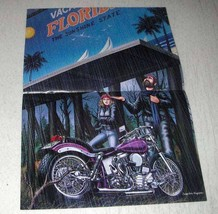 1984 David Mann Illustration - The Sunshine State - $14.99