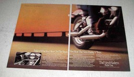 1984 Harley-Davidson Motorcycles Ad - Hear on Street - $14.99