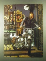 1985 David Mann Illustration - Breaking In - $14.99